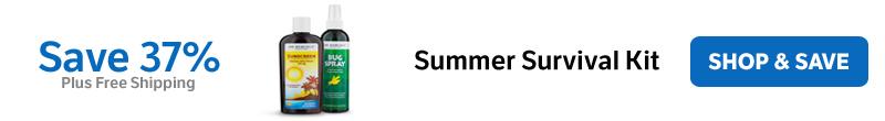 Save 37% on a Summer Survival Kit