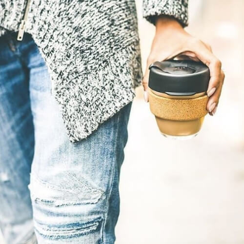eco-friendly coffee cup