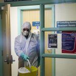 Two healthcare workers in the UK diagnosed with coronavirus