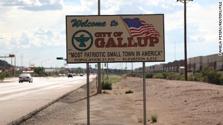 Roads closed into New Mexico city to mitigate 'uninhibited spread of Covid-19'